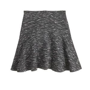J Crew Plaza Skirt in Tweed Women's Size 2 EUC